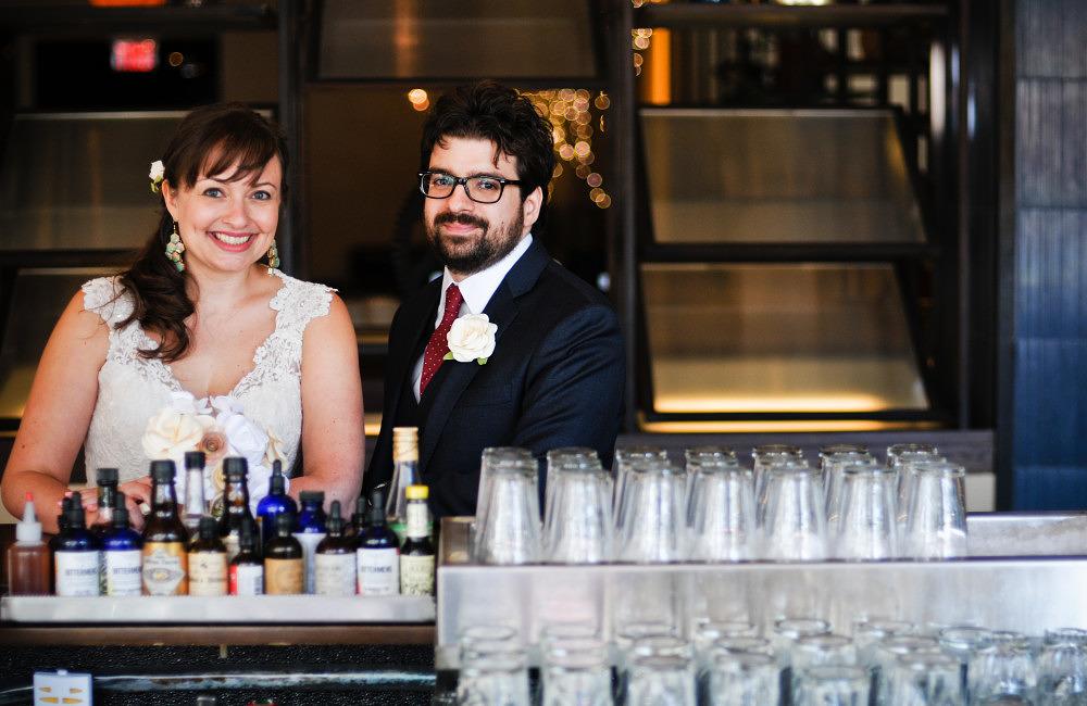 Hamilton Kitchen Wedding | Dana and Jason